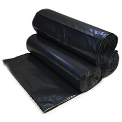 "Linear Low Density Can Liner - 43"" x 47"", 1.5 mil, Black"