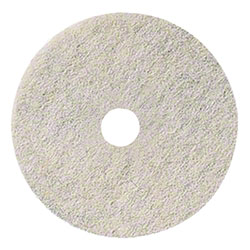 3M™ 3300 Natural Blend White Pad - 19""