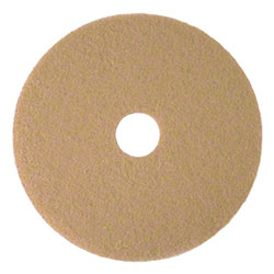 3M™ 3400 Tan Burnish Pad - 19""