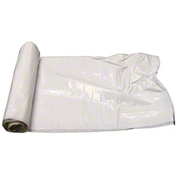 Colonial Bag Super Tuff Coreless - 43 x 47, 1.0 gauge, White