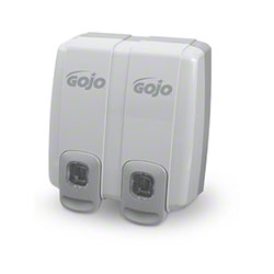 GOJO® NXT™ Side-By-Side™ Dispenser - Dove Gray