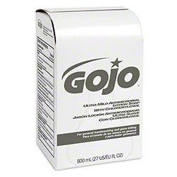 GOJO® Ultra Mild Antimicrobial Lotion Soap - 800 mL BIB