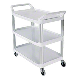 Rubbermaid® Xtra™ Utility Cart - 300 lb., Off White