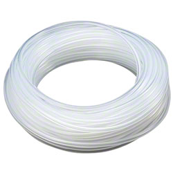 "Spartan 1/4"" Clear Poly-Flex EVA Tubing Roll - 100'"