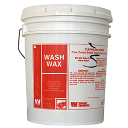 Warsaw Wash Wax Carwash Liquid - 5 Gal.