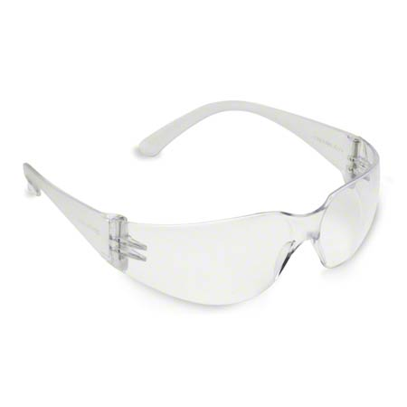 Glasses-Safety Bulldog, Frosted Clear Frame/Clear