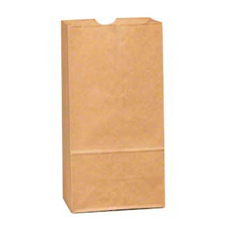 Bag-Grocery 4# Kraft,SOS  500/BN