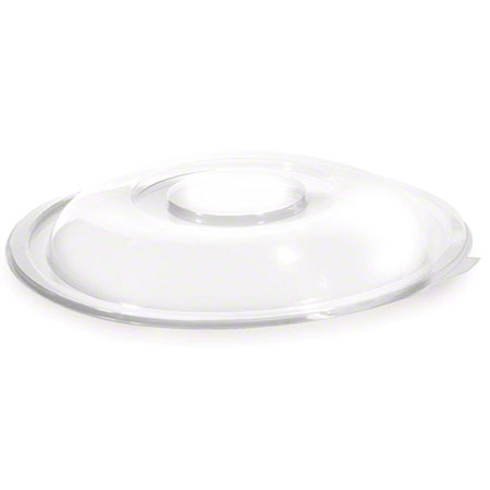 80oz Clear PET Dome Lid Clear 25/CS