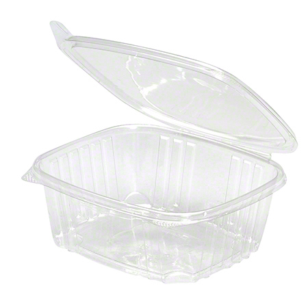 32oz Clear Hinged Container   200/CS