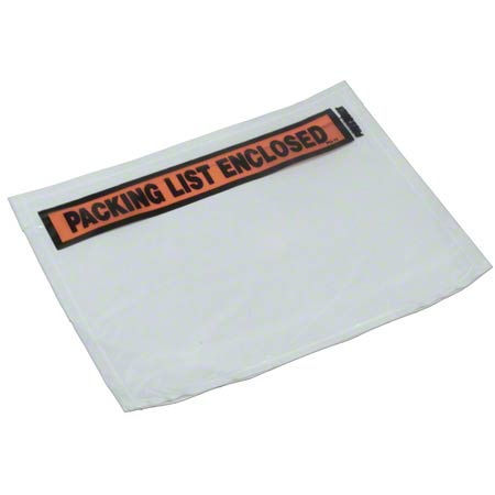 Packing List 7 X 5-1/2,Printed PLE, Envelope-