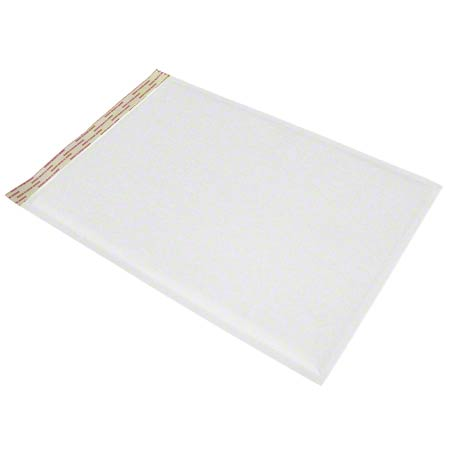 "Mailer-Bubble #0 6.5 X 10"" White Self-Seal 250/CS"