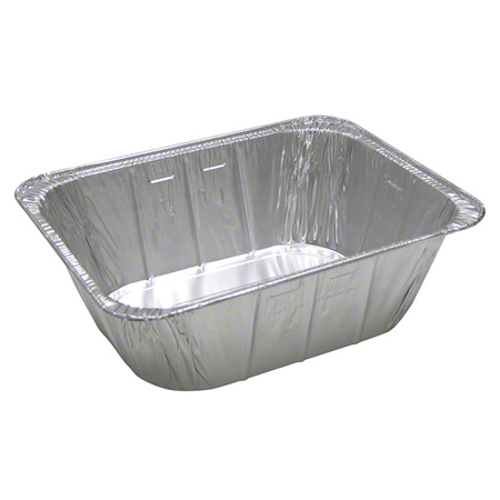 "Aluminum Half Size 4-3/16""  X-Deep Steam Pan 100/CS"