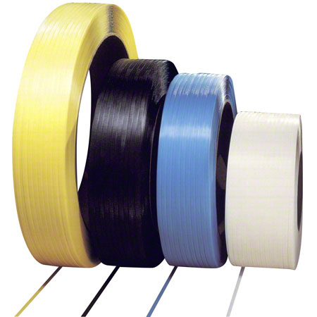 "1/2"" X 9900' .023 (8X8) 350lb  PP White Strapping"