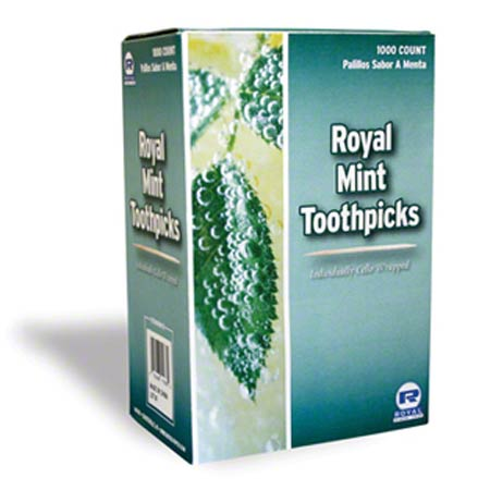 Mint Toothpick Individual Wrapped