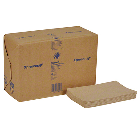 "13X8.5"" Natural 1Ply 1/4"" Fold Xpress Napkin"