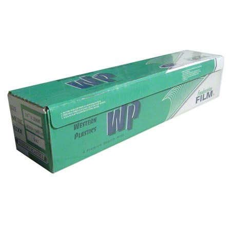 "24""/39GA 2000' Clear FDA Cling Wrap ""Cutterbox"" 1RL/CS 56/PLT"