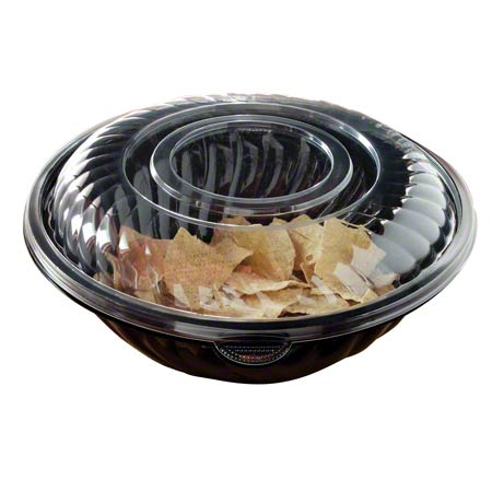 "320OZ Clear PET 16""  Dome Lid  25/CS"