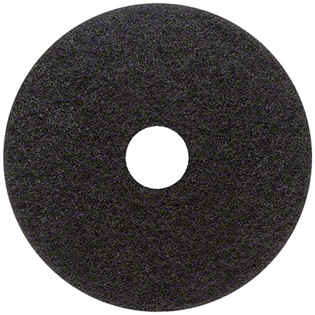 Type 72 Black Stripping Floor Pad - 20""