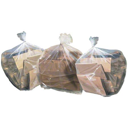 Aluf 50/50 Clear Blend Bag - 23 x 17 x 46, 1.2 gauge EQ