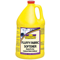 Simoniz® Fluffy Fabric Softener - Gal.