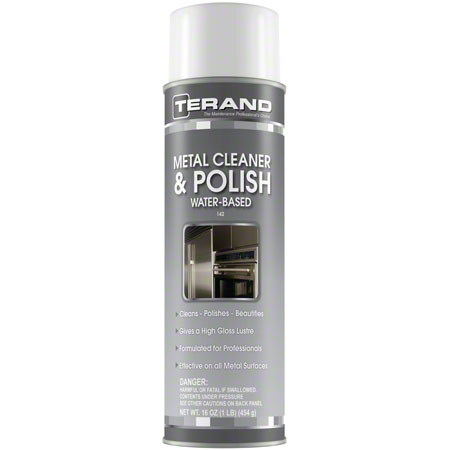CPC Water-Based Metal Cleaner & Polish - 14 oz. Net Wt.