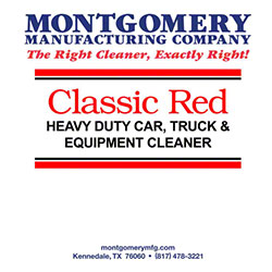 Montgomery Classic Red HD Car, Truck & Equipment Cleaner