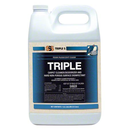 SSS® Triple Carpet Cleaner/Deodorizer & Disinfectant - Gal