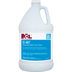 NCL® C-All Ammoniated Window & Glass Cleaner - Gal.