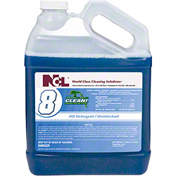 NCL® Ready Set CLEAN!® #8 HD Detergent/Disinfectant -Gal