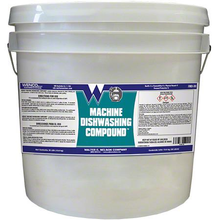 Wenco Machine Dish Compound - 30 lb. Pail