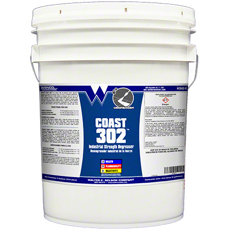 Wenco Coast 302 Industrial Strength Degreaser - 5 Gal.