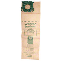Janitized® Compostable Vacuum Filter Bag