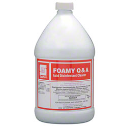 Spartan Foamy Q & A® Acid Disinfectant Cleaner - Gal.