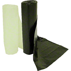 IPS Industries High Density Liner - 40 x 48, 16 mic,Black