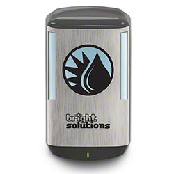 Bright Solutions® CB6 Auto Foam Dispenser - Metallic/Black