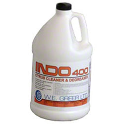 INDO 400 Concentrate Citrus Cleaner/Degreaser - 4 L