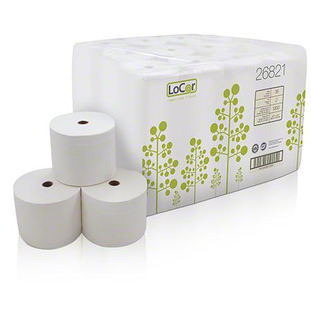 """LoCor® 2 Ply Bath Tissue - 3.85"""" x 4.05"""""""