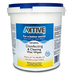Cleaning & Disinfecting Wipes - 500 ct. Bucket