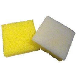 Fine White Backed Scrubber Sponge