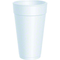 Dart® J Cup® Insulated Foam Drink Cup - 20 oz.