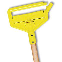 "Rubbermaid® Side Gate Wet Mop Handle - 60"", Hardwood"