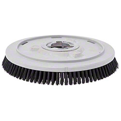 "Tennant Nylon Disk Scrub Brush - 20"", Black"