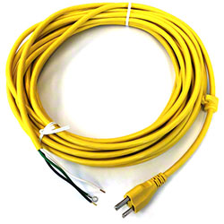 Windsor® Cord Set, 18/3 SJT Smooth X 40' Yellow