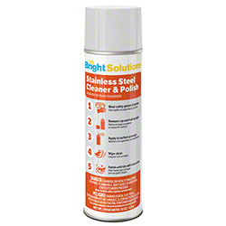 Bright Solutions® Stainless Steel Cleaner & Polish - 15oz