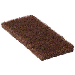 Bright Solutions® Heavy Duty Brown Utility Pad