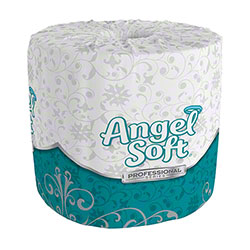 "GP Pro™ Angel Soft® Embossed Bath Tissue - 4.0"" x 4.05"""