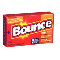 P&G Bounce® Dryer Sheets - 156 Sheets, Coin Op