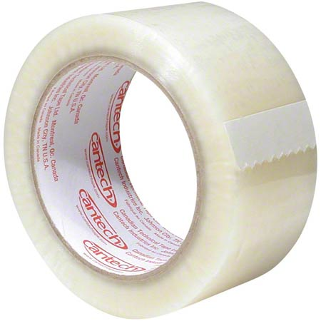 Cantech Economy Grade BOPP Box Sealing Tape - Clear