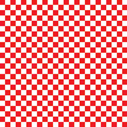 "McNairn Greaseproof Basket Liner - 12"" x 12"", Red Check"