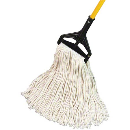 Golden Star® Starline 4 Ply Cotton Wet Mop-#24,Sta-Flat,St